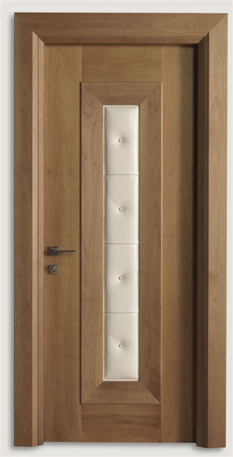Italian Interior Doors Mondrian 913 Qq 07 Italian Walnut Leather Inserts 07 Modern Interior Doors Italian
