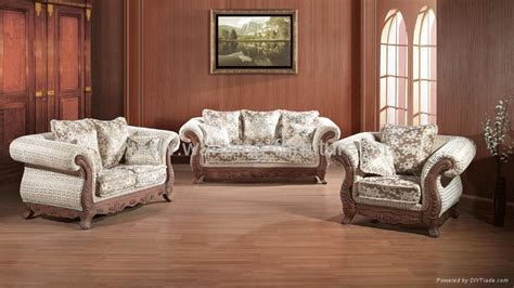 antique sofa set antique royal solid wood furniture leather fabric sofa set