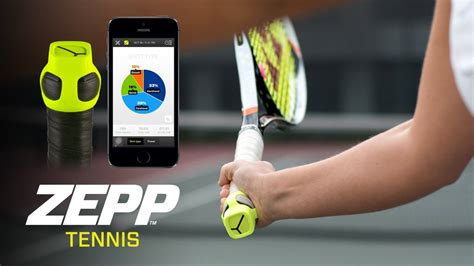 zepp swing analyzer zepp tennis 3d swing analyser youtube