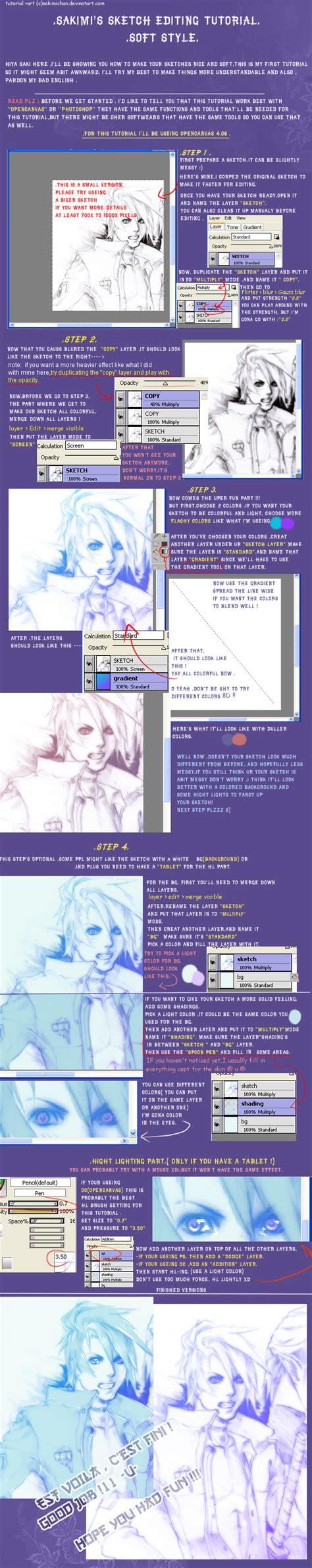 sketchbook edit sketch editing tutorial soft by sakimichan on deviantart