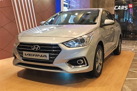 hyundai new verna new hyundai verna launched for rs 7 99 lakh but only for
