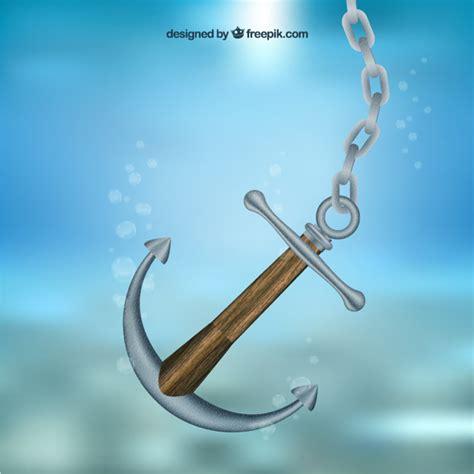 boat anchor underwater anchor underwater vector free download