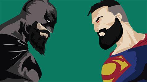 wallpaper wide batman vs superman batman vs superman with beard wide hd 4k wallpaper
