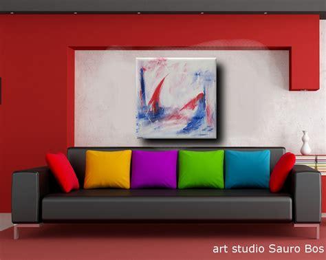 quadro per soggiorno quadro astratto per soggiorno 120x120x4 sauro bos
