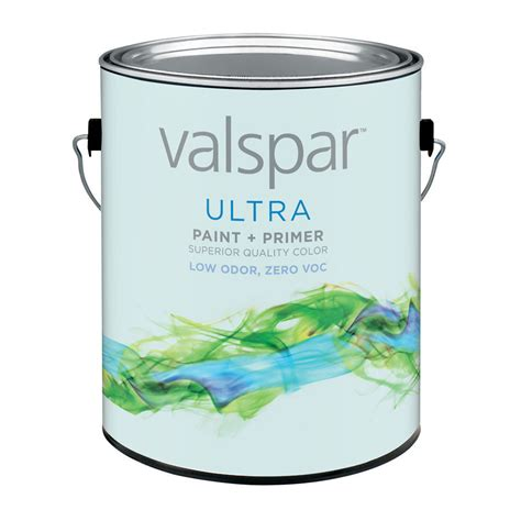 shop valspar antique white semi gloss interior paint and primer in one actual net