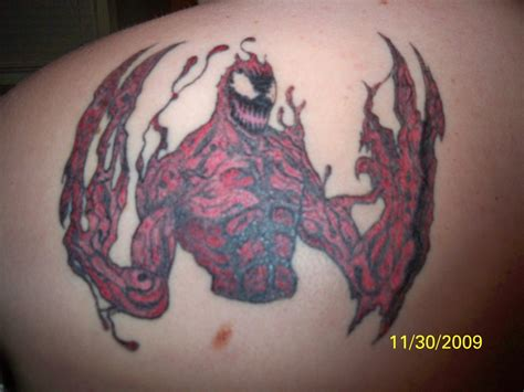 carnage tattoo carnage by vicious420 on deviantart