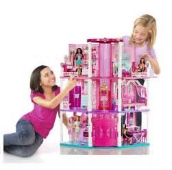 Barbie Dreamhouse by Mattel Barbie Doll 3 Story Deluxe Folding Townhouse Dream