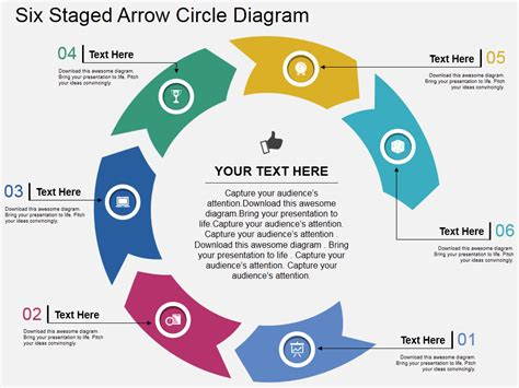 Powerpoint Tutorial 5 Simplest Way To Create Circular Arrows In Powerpoint The Slideteam Blog Circle Of Arrows Powerpoint