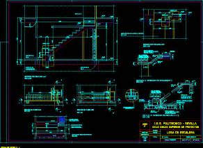 Stairs Details Dwg by Ferro Concrete Stair Details In Autocad Drawing Bibliocad