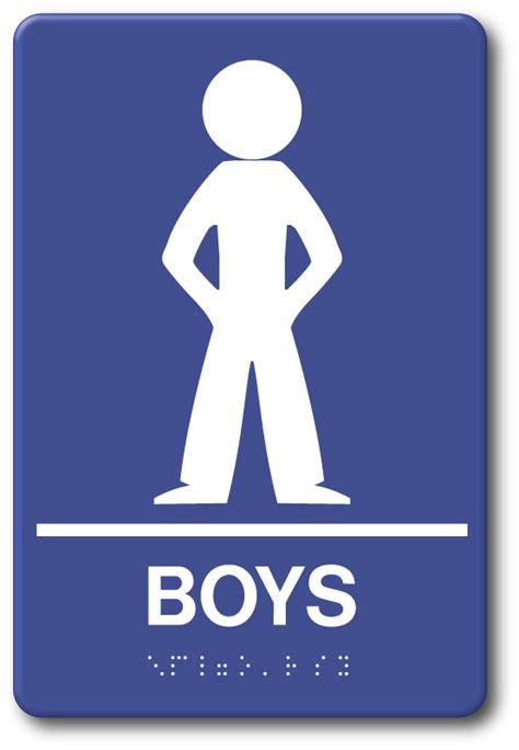 boy bathroom sign boys restroom sign ada09019