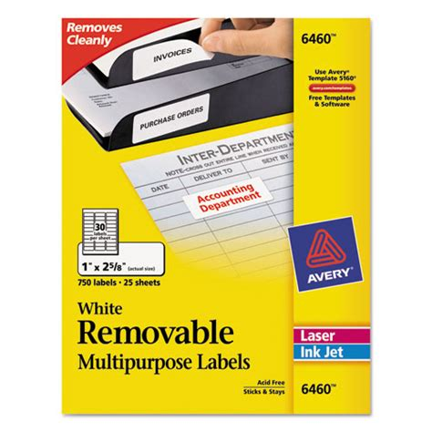 superwarehouse avery dennison id labels avery 6460