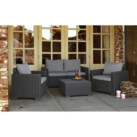 allibert allibert by keter california 2 seater sofa