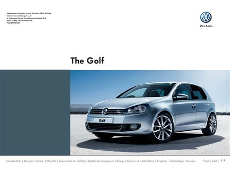 all car manuals free 2010 volkswagen golf on board diagnostic system 2010 volkswagen golf vw catalog