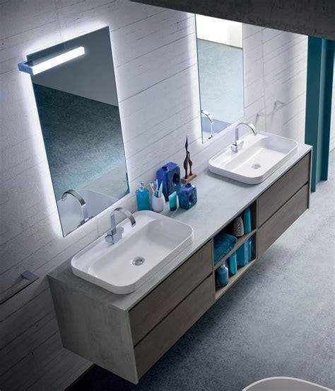 mobile bagno due lavabi un bagno per due mobile con doppio lavabo arredamento