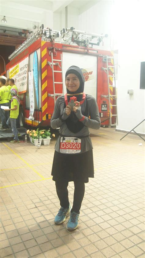 Set Intan firefighter cyberjaya half marathon where we