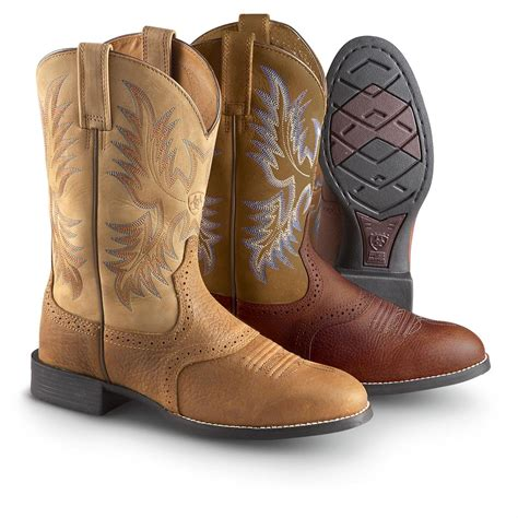 ariat boot s ariat stockman boots 282589 cowboy western