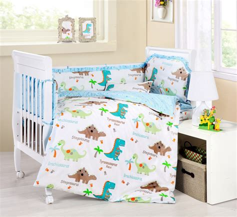 Baby Dinosaur Crib Bedding Baby Bedding Crib Cot Sets 9 Dinosaurs Theme Rrp 150 Nursery Ideas