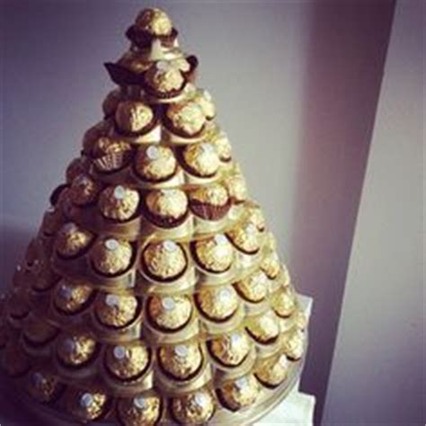 how to make a rocher christmas tree with 48 rocher chocolates 1000 images about ferrero rocher golden gift from influenster on ferrero rocher