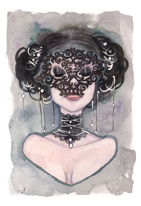 watercolor tattoo new orleans black mask by carlations on deviantart inspired by new