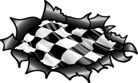 Butterfly Wall Stickers Uk ripped torn carbon fibre fiber design with chequered