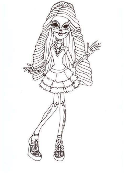 monster high coloring pages print asoboo info moster high pintables free printable monster high