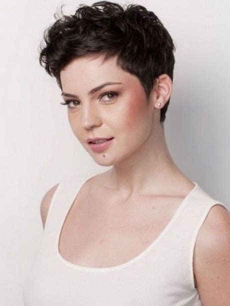pixie cuts with a little wave 2016 short hairstyles for curly hair