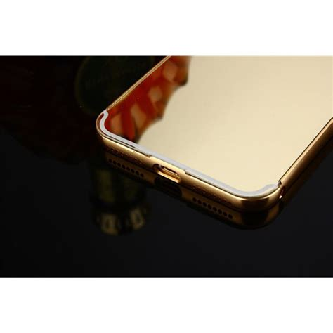 Iphone 7 Plus Power Casing Cover Bumper 8000mah aluminium bumper with mirror back cover for iphone 7 8