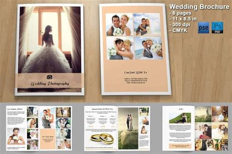 Wedding Photography Brochure Design by Printable Brochures Design Trends Premium Psd Vector