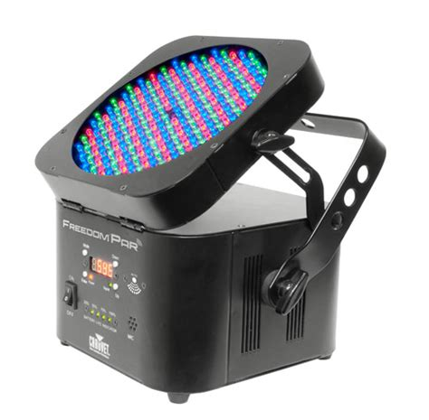 Wireless Can Lights by Chauvet Dj Freedompar Rechargeable Li Ion Battery Operated Wireless Rgb Wash Light Dmx Led Par