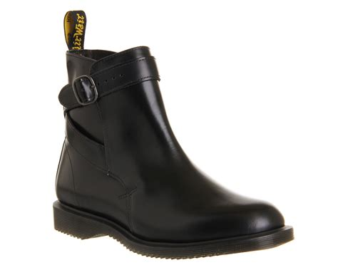 dr martens kensington teresia jodpitur boots black hi