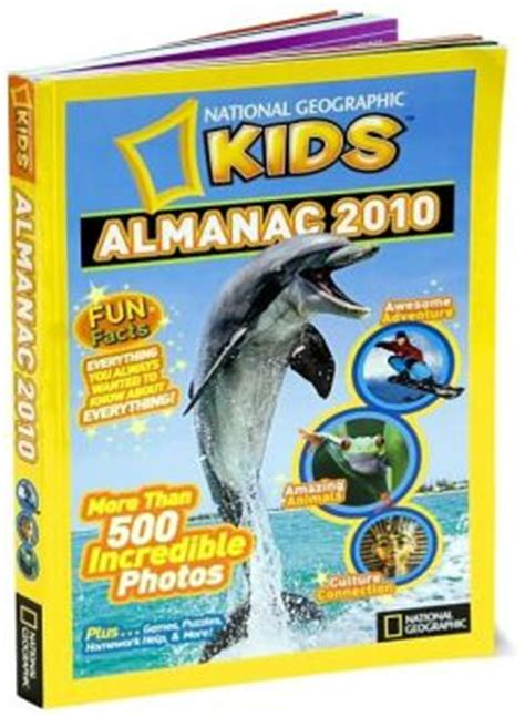 national geographic kids almanac 2010 by various 9781426305016 paperback barnes noble