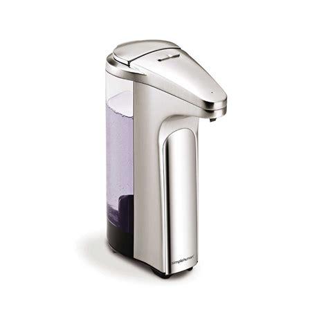 simplehuman standard sensor soap pump dispenser things4myhome com