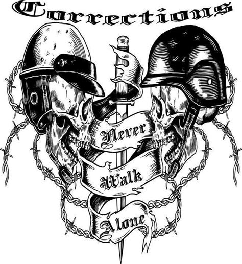 correctional officer we never walk alone corrections