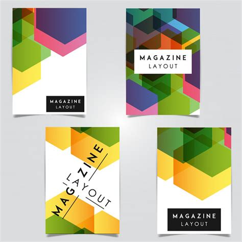 magazine layout vector free download vector abstract magazine layout template designs vector