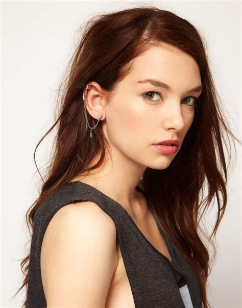 pale skin brown eyes hair color red brown hair hazel eyes pale skin asos model hair