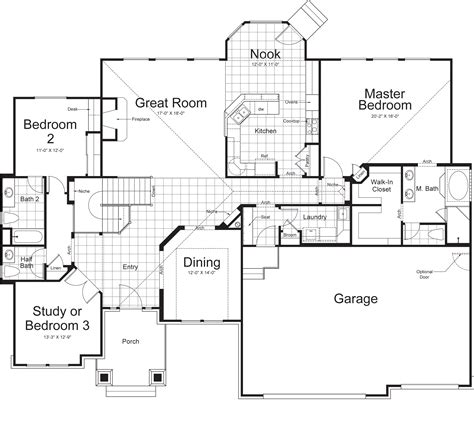 home floor plans ramblers impressive rambler home plans 11 rambler house floor