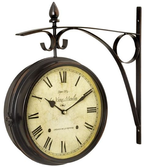 Garden Clock by Faced Chatham Station Clock Garden Clock Images