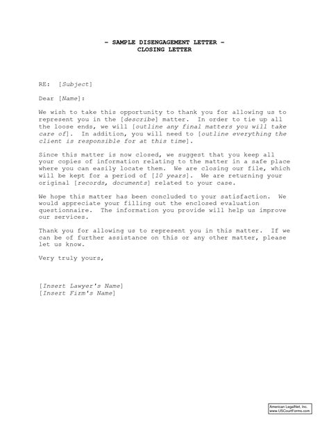 Closing Letter Formal Business Letter Closing Cover Letter Exle