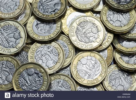 currency gbp pound coins money gbp currency stock photos pound coins
