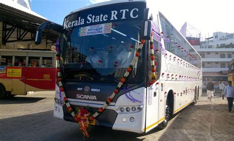 boat service from ernakulam to kozhikode kerala rtc scania starts service from trivandrum to
