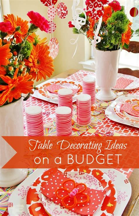 decorating ideas on a budget table decorating ideas on a budget thistlewood farm