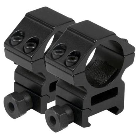 """ruger 10/22 mounting kit 1"""" heavy duty high rings & 10"""