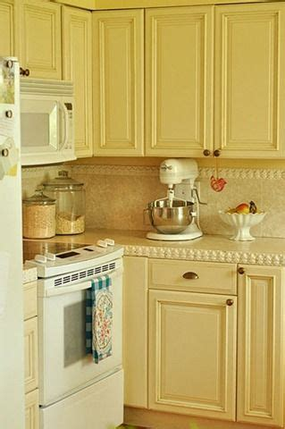 Buttercream Kitchen Cabinets Buttercream Yellow Wallpaper And Paint Pinterest