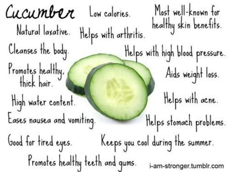 benefits of cucumber benefits of cucumbers health and wellness pinterest