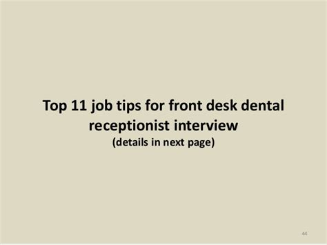 front desk receptionist interview questions top 36 front desk dental receptionist interview questions