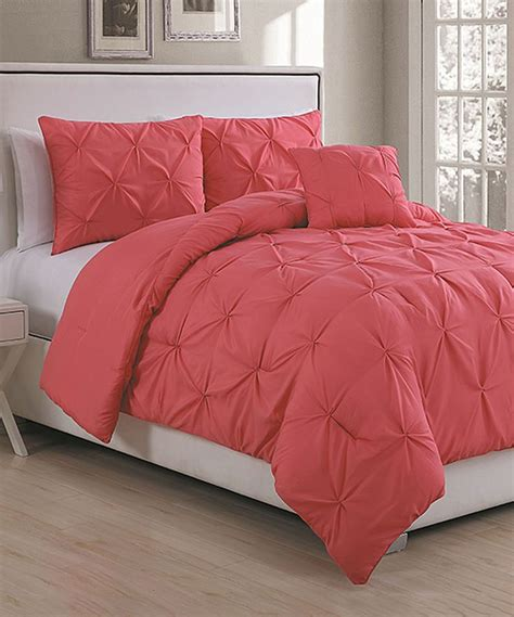another comforter another great find on zulily coral anabelle comforter