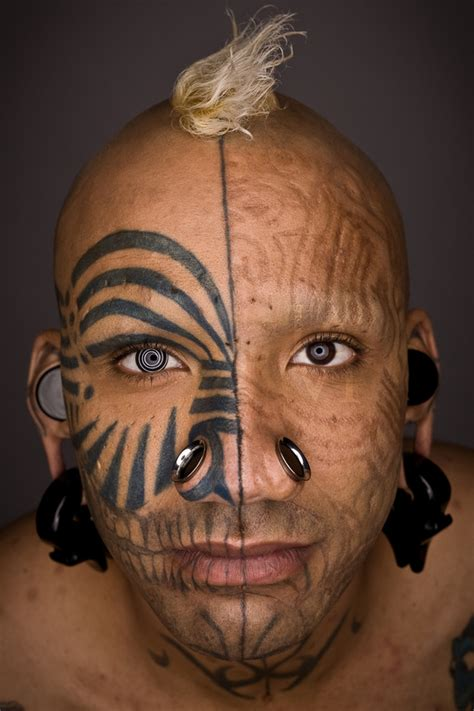 tattoo body modification supa niga on behance