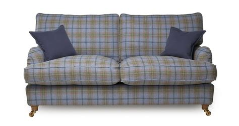 blue plaid sleeper sofa blue plaid sofas catosfera