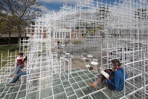 Flat Roof House interactive art serpentine gallery pavilion by sou