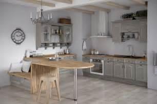 meuble cuisine en bois brut 100 ides de cuisine avec lot